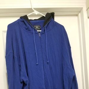 Other - Blue thermal hoodie